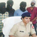 बलिया पुलिस की बड़ी कामयाबी अंतर जनपदीय 5 लुटेरें  गिरफ्तार