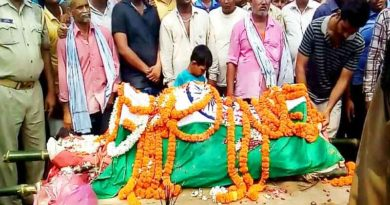 dead body of soldier