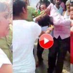 चाचा को महंगी पड़ी आशिकी लड़की ने की जमकर पिटाई, देखे विडियो