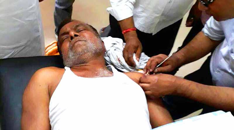 man injured during gun testing