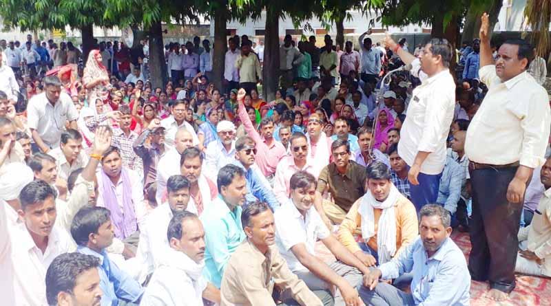 shikshamitra protest on cabinet decision