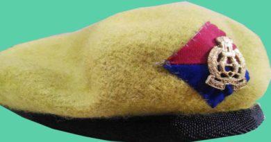 up police cap