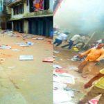 सिकंदरपुर बनने से बचा रतसर, पुलिस की नाकामी से भड़की आग
