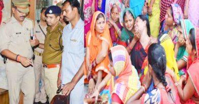 jaunpur women murder cutting neck by knife