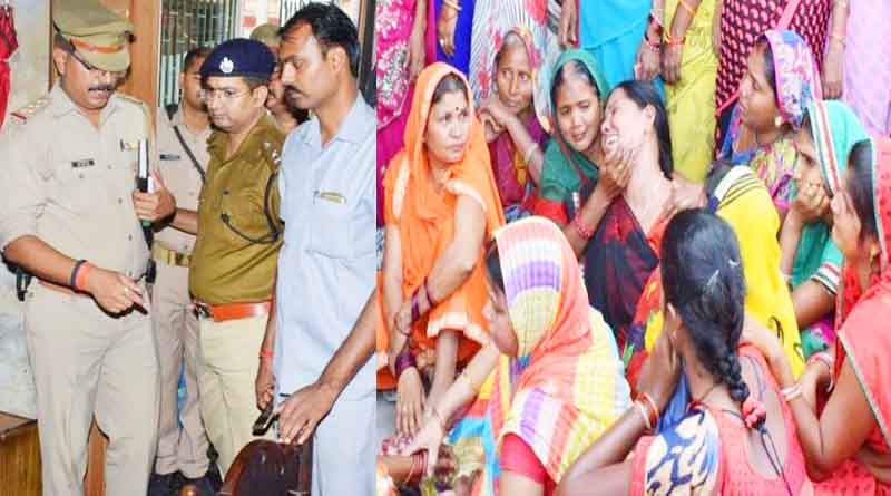 jaunpur women murder cutting neck by knife