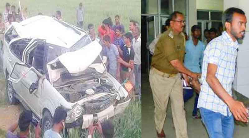tata safari accident